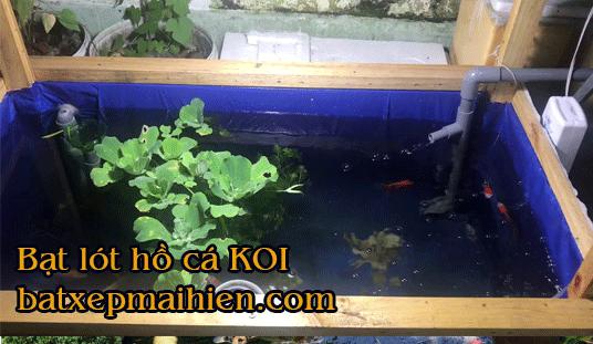 Báo giá bán lẻ Bạt Lót Bể Cá Cảnh nhựa HDPE nuôi cá koi tphcm