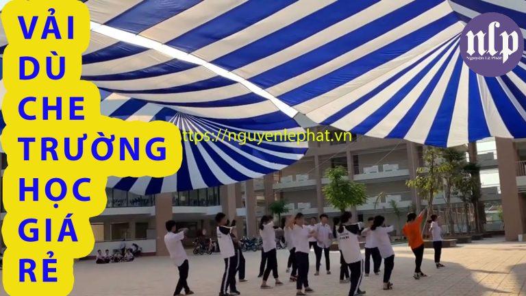 Báo giá ô dù sự kiện che nắng mưa ngài trời, dù che sân trường học giá rẻ