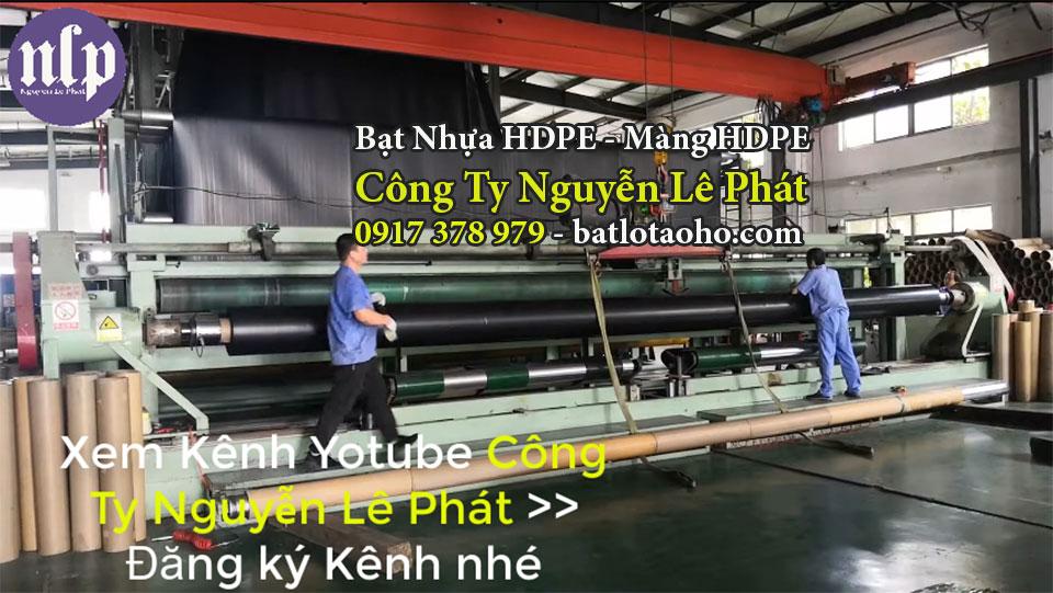 Bạt Lót Ao Hồ Chứa Nước Tưới Cây Xuân Lộc
